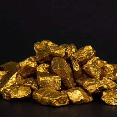 gold-nachdem-schmelzprozess
