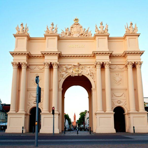 Brandenburg Gate a neoclassical triumphal arch